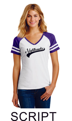 RHMS Game Day Ladies Tee- 3 designs- Matte or Glitter
