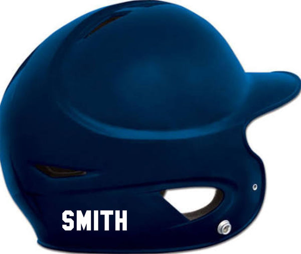 Hawks Baseball Helmet Sticker