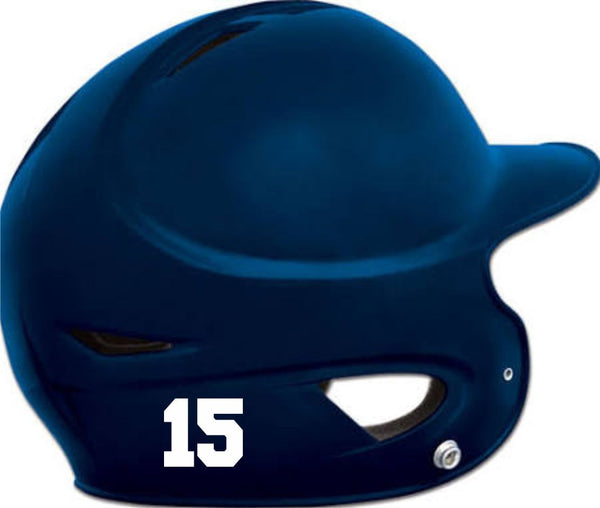 Chap Baseball Helmet Sticker