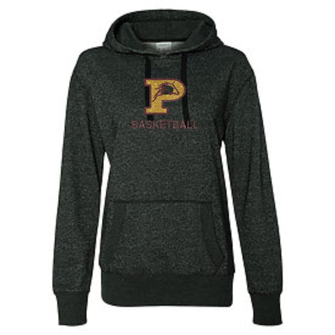 PHS Basketball Ladies Sparkle Fabric French Terry Hoodie