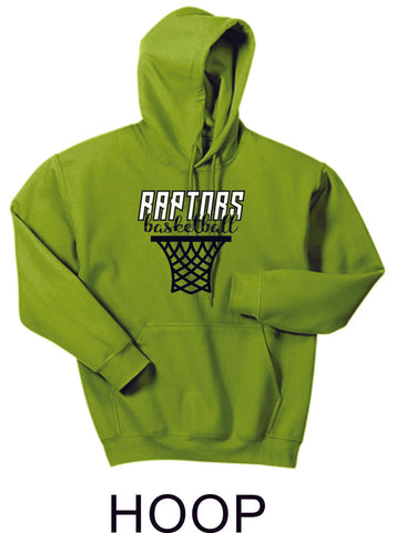 Raptors Basketball Hooded Sweatshirt- 5 designs- Matte or Glitter