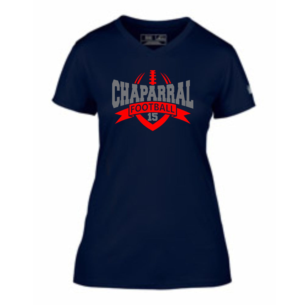Chap Ladies Banner Performance Wicking Tee