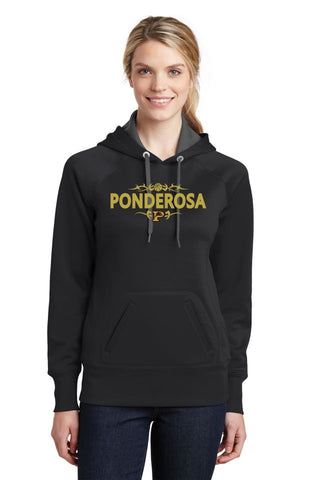 PHS Basketball Ladies Performance Hoodie