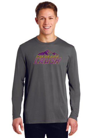 CO Crush Sport Tek Long Sleeve Wicking Tee