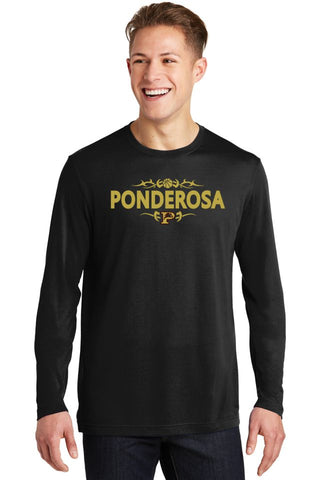PHS Basketball Long Sleeve Wicking Tee
