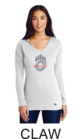 Chap Band New Era Lightweight Ladies Hooded Pullover-  Matte or Glitter