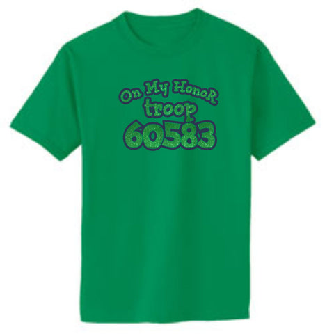 Troop Glitter Honor Basic Tee
