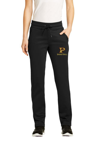 PHS Basketball Ladies Performance Fleece Pants