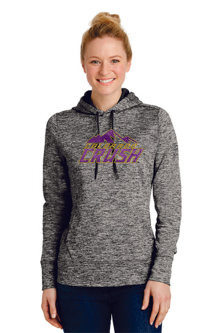 CO Crush Wicking Heather Hoodie- Ladies