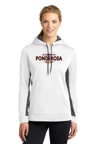 PHS Basketball Ladies Colorblock Performance Hoodie