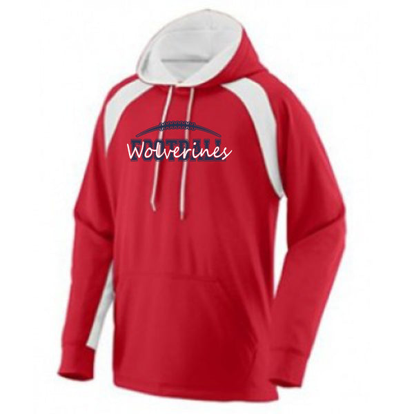 Chap Football Performance Striped Up Hoodie