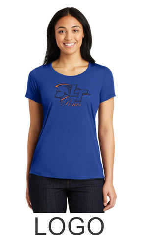 LT Poms Sport-Tek Ladies Wicking  Tee - 2 designs