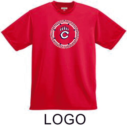 Chap Band Basic Wicking T-Shirt - 3 Designs