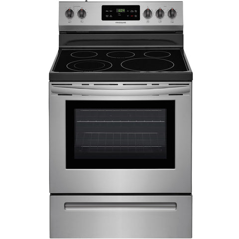 Frigidaire Smooth Surface Freestanding 5-Element 5.4-cu ft Steam-Cleaning Electric Range