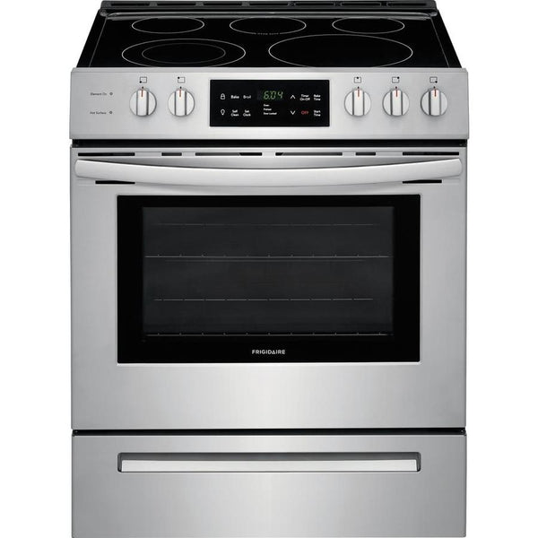 Frigidaire Smooth Surface 5-Element 5-cu ft Self-Cleaning Slide-in Electric Range