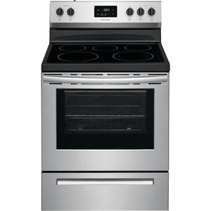 Frigidaire Electric Range EasyCare Stainless Steel