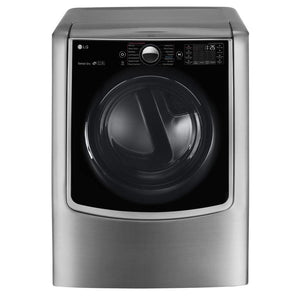 LG 9-cu ft Electric Dryer (Graphite Steel) - Dented