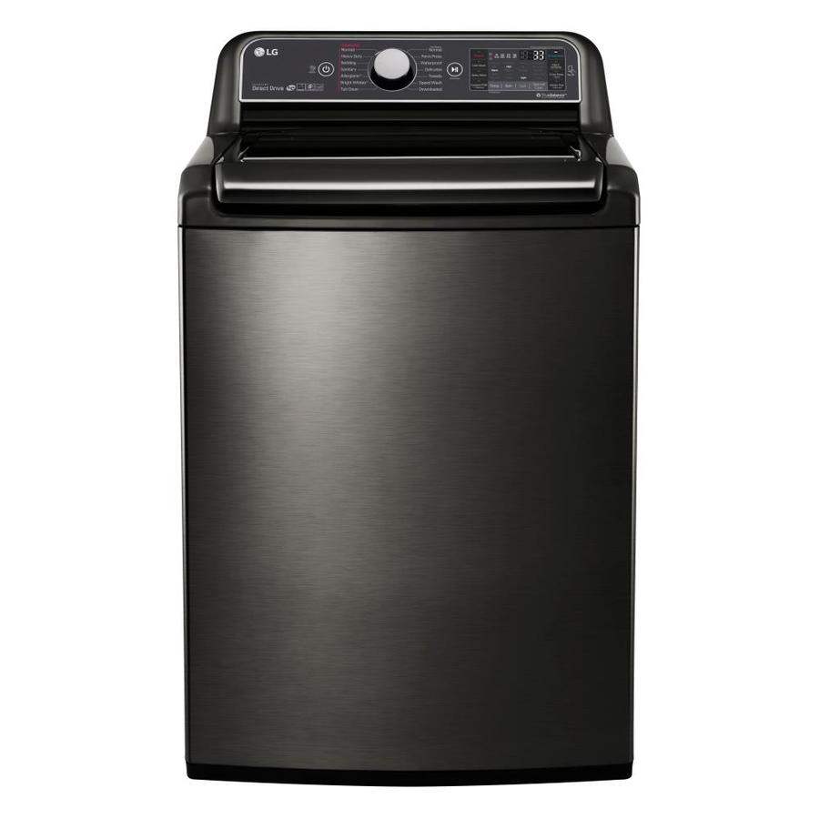 LG 5.2-cu ft High-Efficiency Top-Load Washer