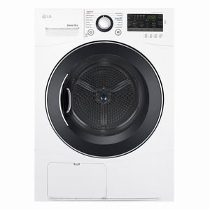 LG 4.2-cu ft Stackable Ventless Electric Dryer