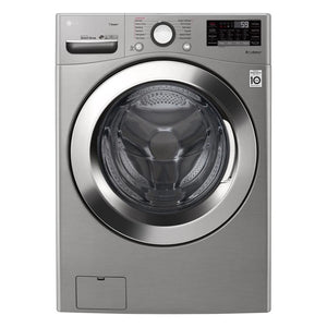 LG 4.5-cu ft High Efficiency Stackable Front-Load Washer (Graphite Steel)