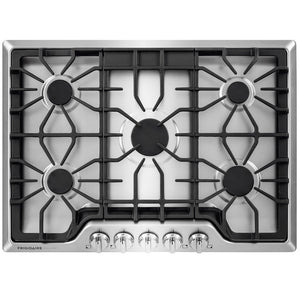 Frigidaire 5-Burner Gas Cooktop (Stainless Steel)
