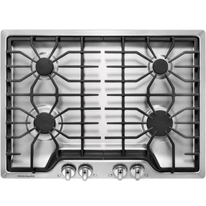 Frigidaire 30-in Stainless Steel Gas Cooktop