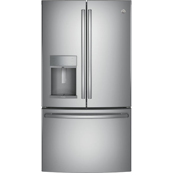 GE Profile 27.8-cu ft French Door Refrigerator with Ice Maker (Stainless Steel)