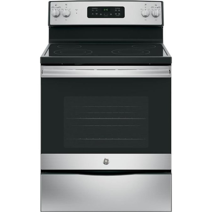 GE Smooth Surface Freestanding Electric Range
