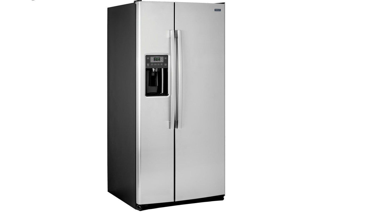 Crosley 23.2 Cu.Ft. Side by Side Stainless Steel Refrigerator