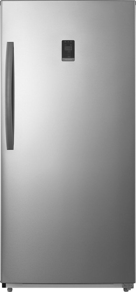 Insignia 17.0 cu ft Upright Stainless Steel Freezer