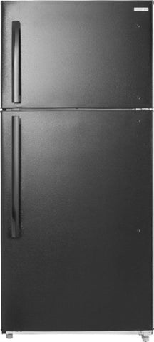 Insignia 18 cu ft Top Freezer Refrigerator Black