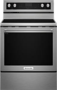 KitchenAid 6.4 Cu. Ft. Self-Cleaning Electric Convection Range