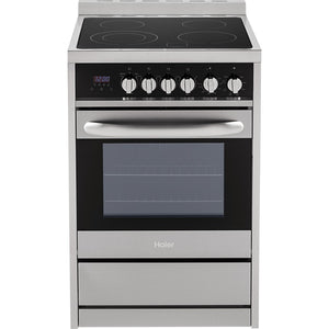 Haier Smooth Surface Freestanding 2-cu ft True Convection Electric Range (Stainless Steel)