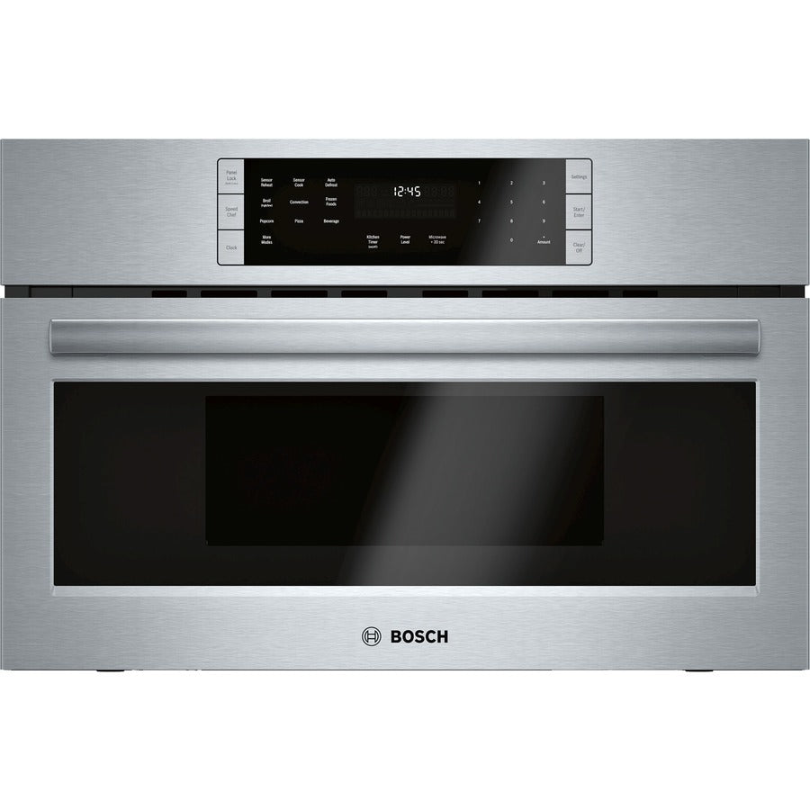 Bosch 800 Series 1.6-cu ft Built-in Speed Cook Convection Microwave with Sensor Cooking Controls