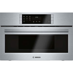 Bosch 800 Series 1.6-cu ft Built-in Speed Cook Convection Microwave with Sensor Cooking Control