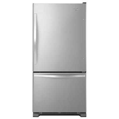 Whirlpool 18.7 cuft Bottom Freezer Refrigerator
