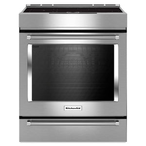 KitchenAid 7.1-cu ft Slide-in Induction Range (Stainless Steel)