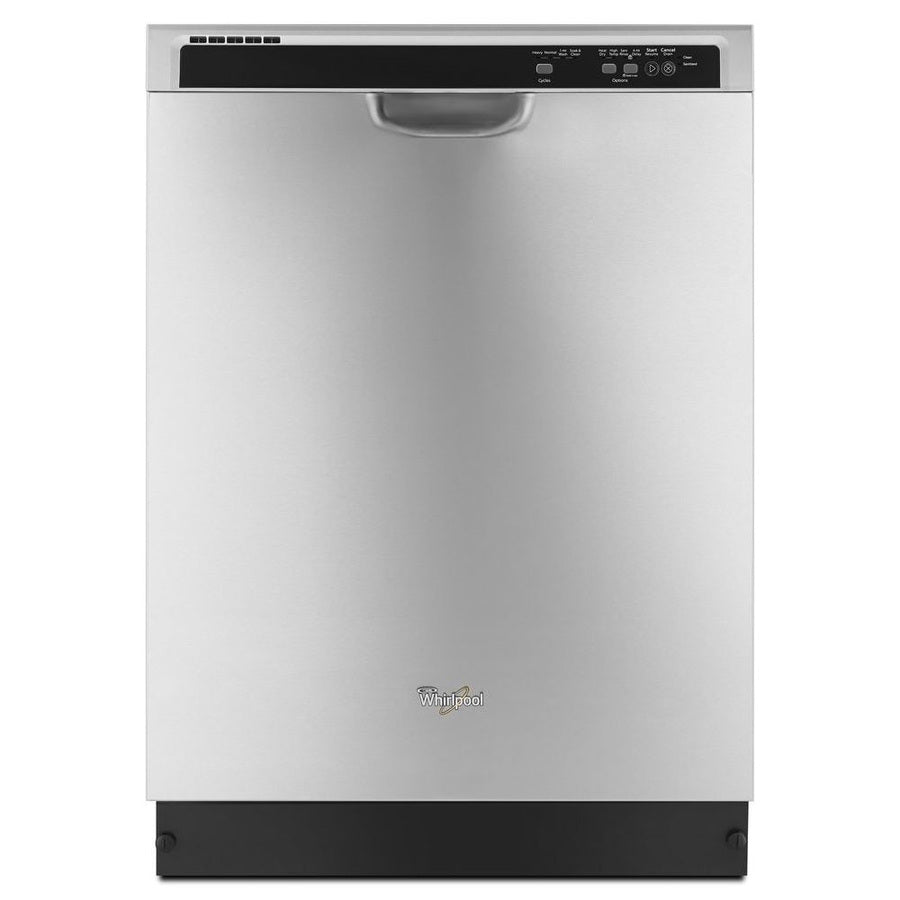 Whirlpool 55-Decibel Built-In Dishwasher (Monochromatic Stainless Steel)
