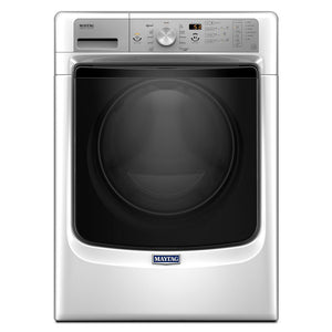 Maytag Fresh Hold 4.5-cu ft High Efficiency Stackable Front-Load Washer (White)
