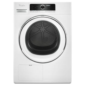 Whirlpool 4.3-cu ft Stackable Ventless Electric Dryer (White)