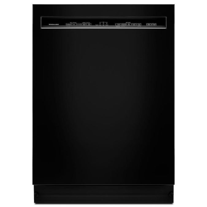 KitchenAid 46-Decibel Front Control 24-in Built-In Dishwasher