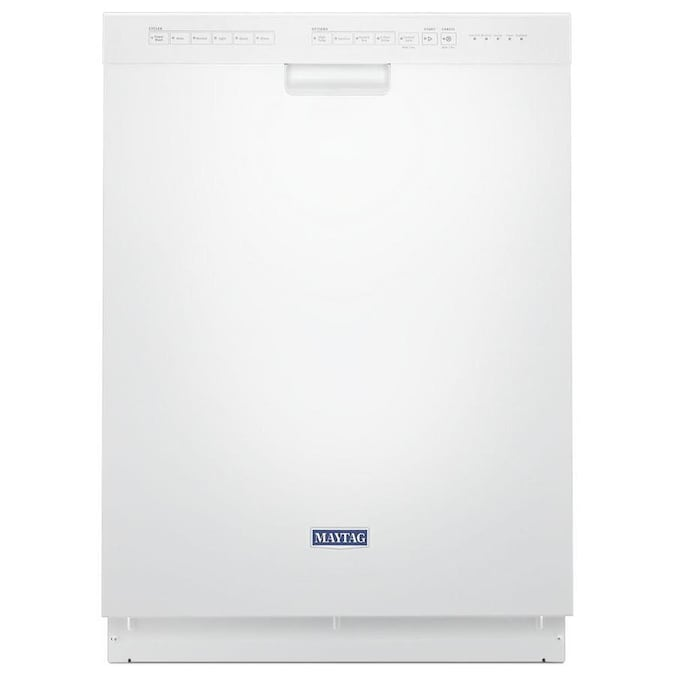 Maytag 50-Decibel Front Control 24-in Built-In Dishwasher