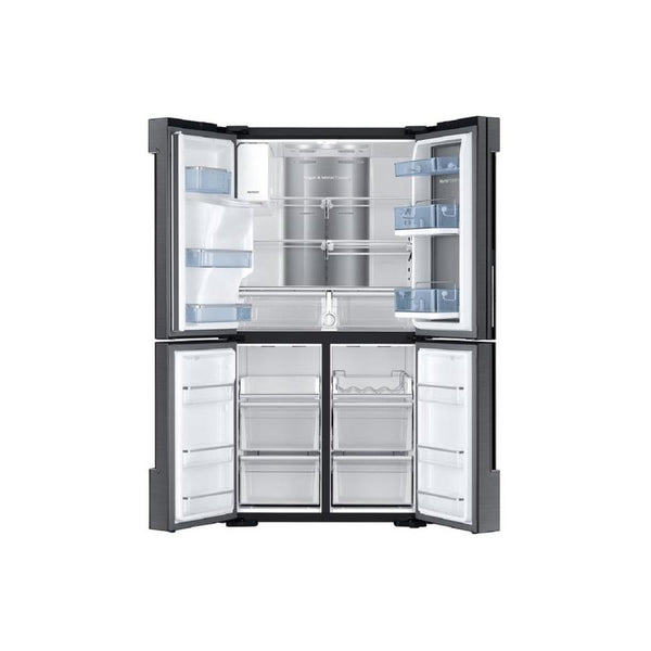 Samsung 4-Door Flex with Food Showcase 22.1-cu ft 4-Door Counter-Depth French Door Refrigerator