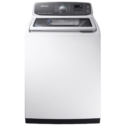 Samsung Activewash 5.2-cu ft High Efficiency Top-Load Washer White