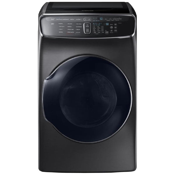 Samsung FlexWash 6 Total-cu ft High Efficiency Front-Load Washer (Black Stainless Steel) ENERGY STAR