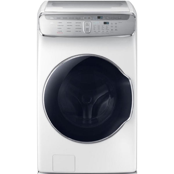 Samsung FlexWash 6 Total-cu ft High Efficiency Front-Load Washer (White) ENERGY STAR