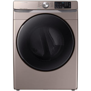 Samsung 7.5-cu ft Stackable Electric Dryer (Champagne)