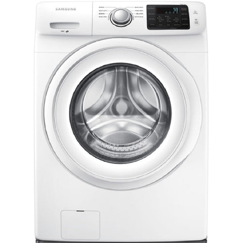 Samsung 4.2-cu ft High Efficiency Stackable Front-Load Washer (White)
