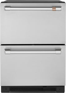 GE Cafe 24in Duel Drawer Refrigerator