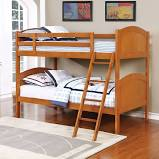 Parker Collection Bunk Bed - Honey (460203)